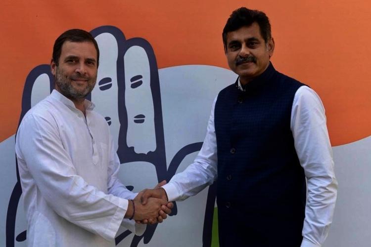 Telanganas richest MP Konda Vishweshwar Reddy leaves TRS to join Congress