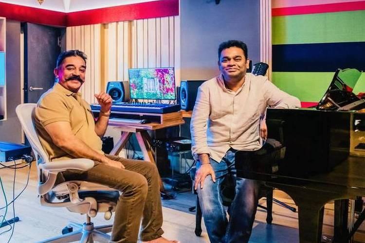 Kamal Hassan teams up with AR Rahman for Thalaivan Irukkindraan
