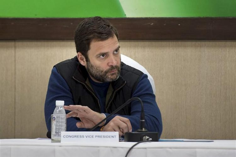 Stop restrictions on cash withdrawal demands Rahul Gandhi