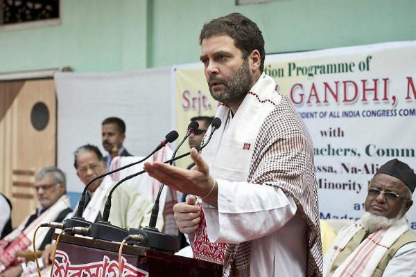 Unsigned letter threatening to kill Rahul surfaces Cong urges Rajnath to beef up security
