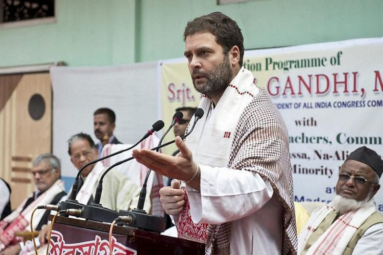 UP court admits petition seeking sedition trial against Rahul Gandhi