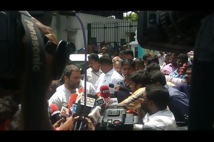 Rahul Gandhi visits Apollo gives maximum energy to Jayalalithaa so she can recover