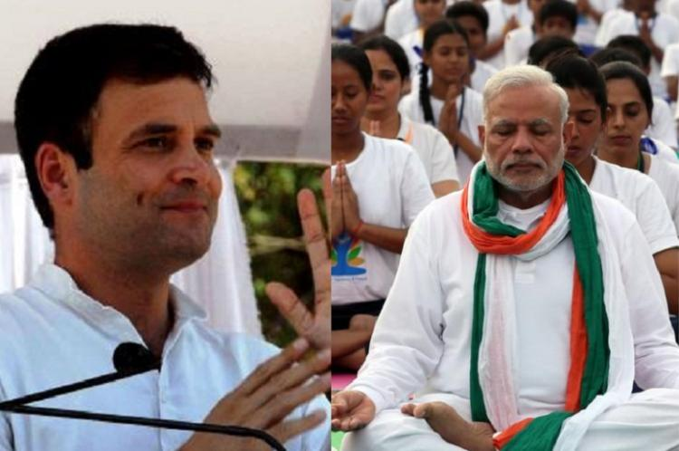 Modi busy filling pockets of industrialists Rahul Gandhi