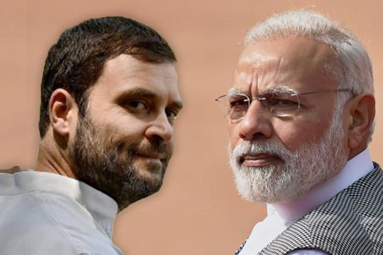 RSS Prime Minister lying to nation Rahul Gandhi attacks Modi on no detention centre claim
