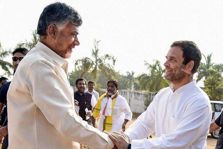 Congress to go alone in Andhra elections not to ally with TDP in state