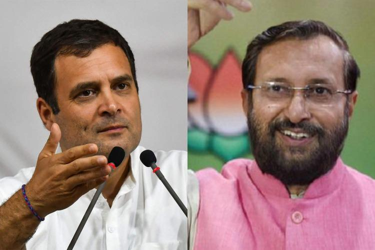 Won from Wayanad so his thinking changed Prakash Javadekar on Rahuls Kashmir remark