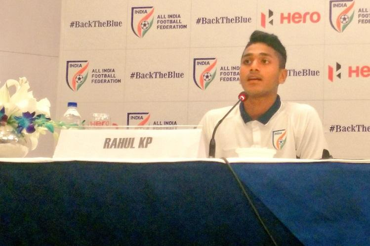 Meet Rahul KP the versatile Kerala footballer in the Indian squad for FIFA U17 World Cup