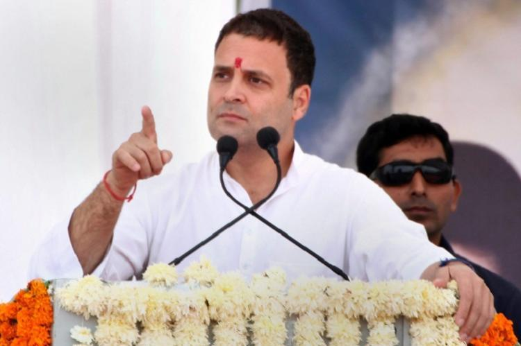 It is an insult to every Indian Rahul slams RSS chief Bhagwat over comment on army