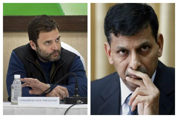 Modi knows everything has no need for experts like Rajan Rahul Gandhi