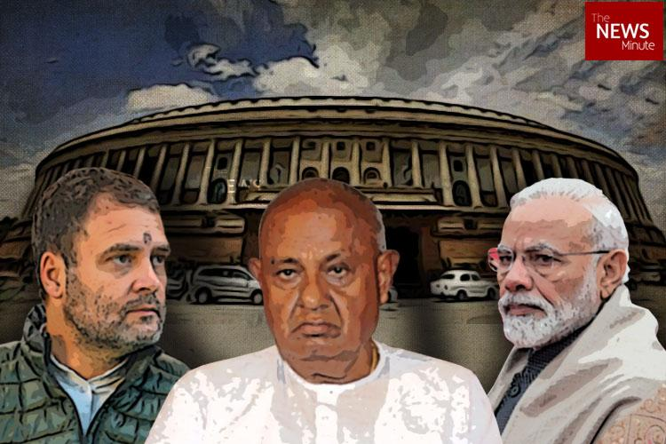 Karnataka to vote on Apr 18 and 23 Will Cong-JDS coalition break into BJP bastions