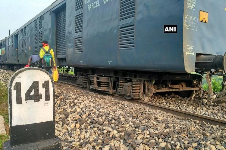 Seven coaches of Shaktipunj Express derail in UP fourth incident in a month