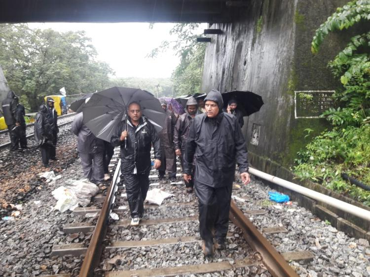 Floods disrupt life in north Karnataka 2 dead trains and buses affected
