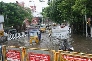 With two dead and deep depression approaching Chennai prepares for heavy rainfall