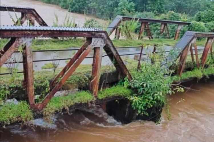 Rains leading to high water levels