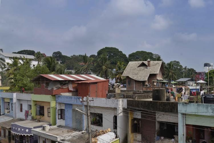 Overflowing sewage collapsing roofs make life living hell for Keralas Rajaji Nagar residents