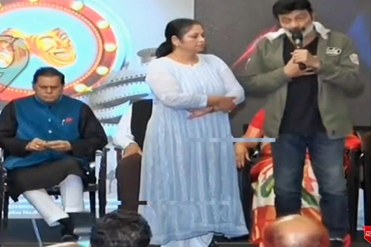 High drama at MAA event Rajasekhar resigns Chiranjeevi miffed with him
