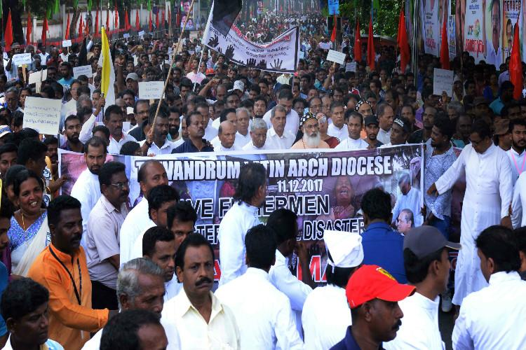 Declare Cyclone Ockhi a national disaster Kerala fishermen tell government