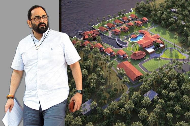 Did Kerala resort owned by MP Rajeev Chandrasekhars co encroach land The full story