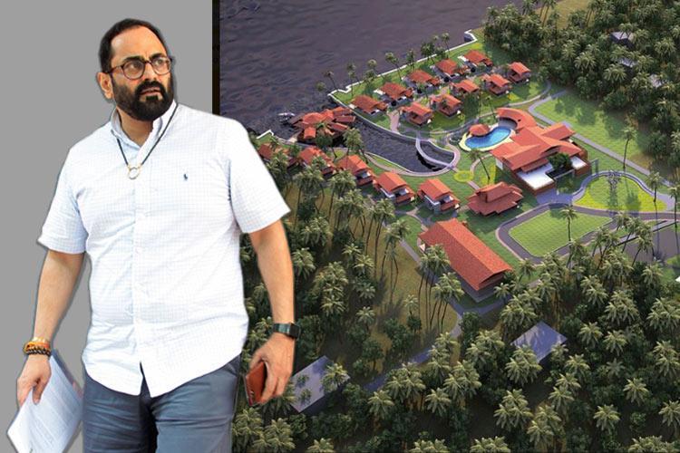 Demolish buildings on encroached land Panchayat tells Rajeev Chandrasekhars resort