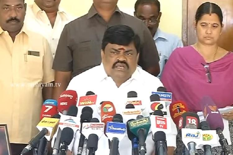 TN minister blurts out Modi is on our side assures OPS-EPS camp will win EC case