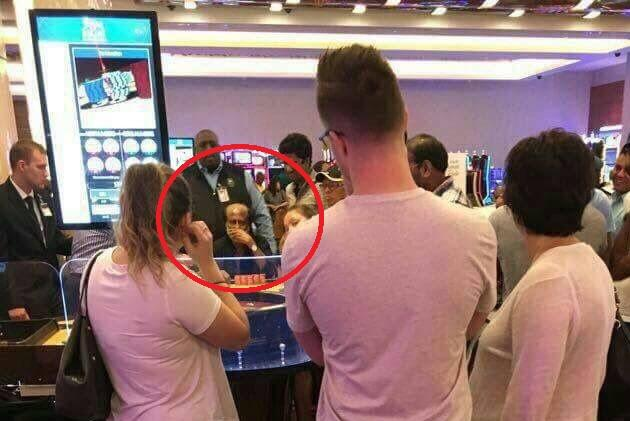 Swamy attacks Rajinikanth again this time over leaked image of him allegedly in a US casino