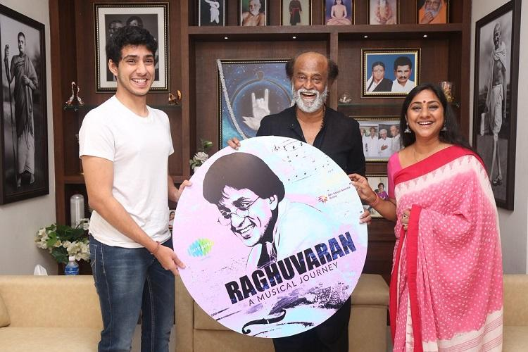 Did you know Raghuvaran was a musician Rajinikanth launches late actors music album
