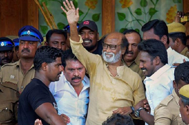 Rajinikanth blames anti-social elements for Sterlite protest