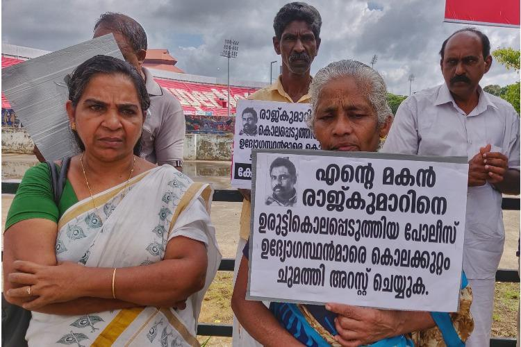 Two Kerala women march to Assembly seeking justice for their sons killed in custody