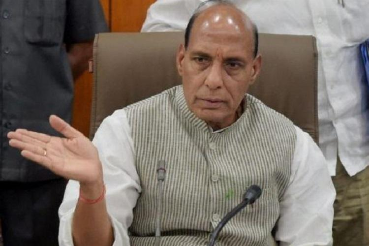 Tripura CM lacks courage to act against tainted ministers: Rajnath Singh