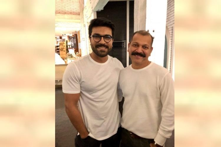 Arthur Wilson replaces Rishi Punjabi as cinematographer in Ram Charans next
