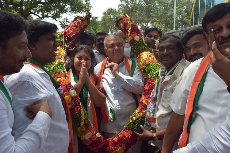 For the first time Karnataka to have father-daughter duo in the Assembly