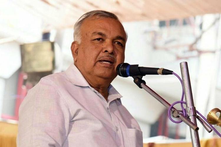 Leading the rebellion against Ktaka govt is former Congress Home Minister Ramalinga Reddy
