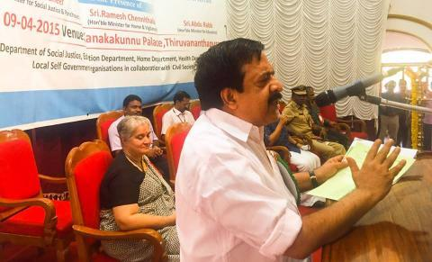 Police will not enter the campuses unnecessarily Ramesh Chennithala