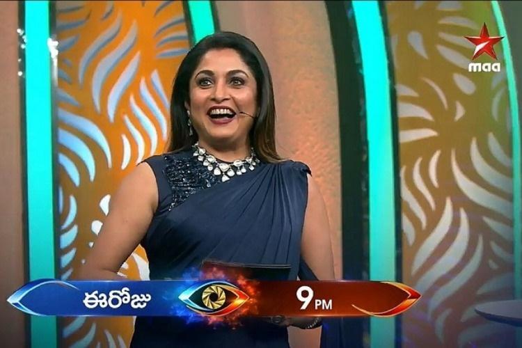 Ramya Krishnan gets a thumbs-up as Bigg Boss Telugu host