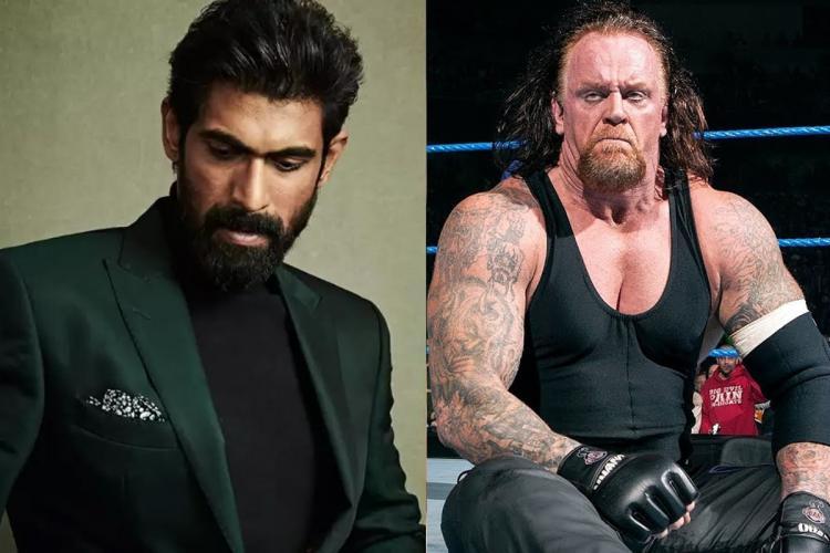 Rana Daggubati to be on talk show with WWE legend The Undertaker