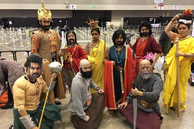 Rana represents Baahubali at the Tokyo Comic Con