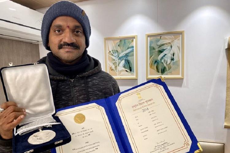 At 66th National Awards Ranjith wins Telugu cinemas first ever award for best make-up