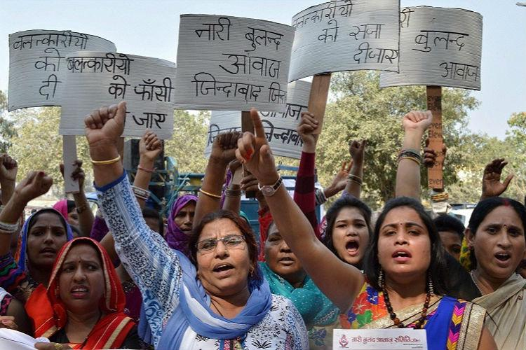 Four women raped modesty of 9 outraged every day in Delhi in 2012-2015