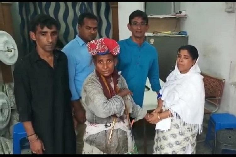 Home after 30 years 62-yr-old living on Hyd streets reunites with her family in Assam