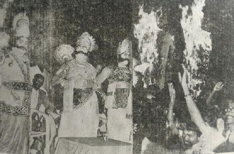 Ravana Leela 1974 When Periyarists slayed Rama to protest Indira Gandhis Ram Leela