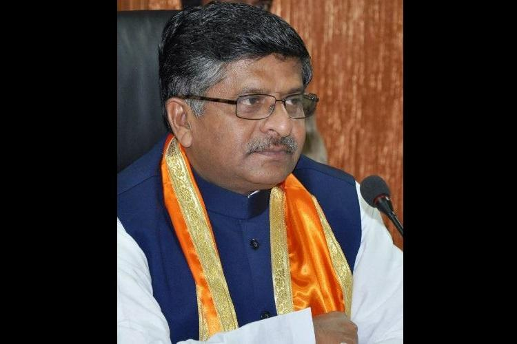 Congress biggest patron of graft and corrupt Union minister Ravi Shankar Prasad