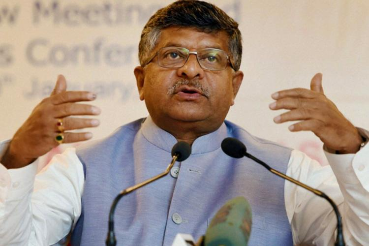 Union Minister Ravi Shankar Prasad makes light of KCRs third front idea