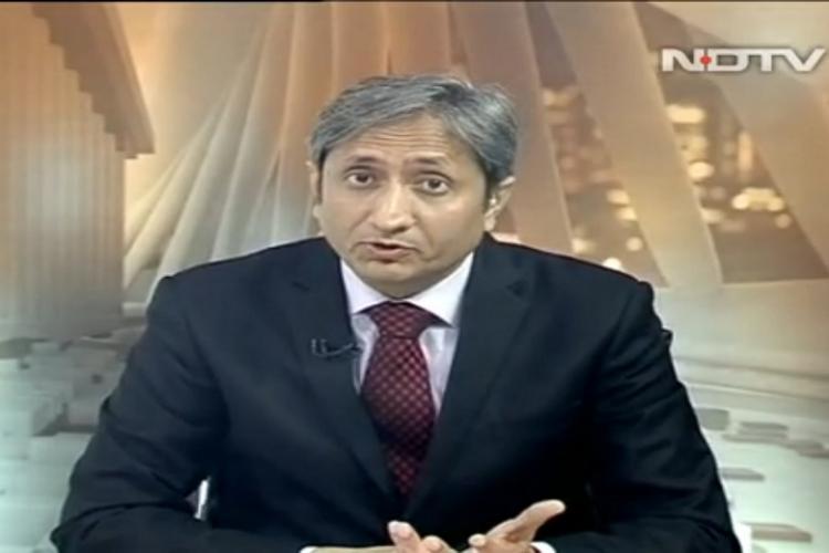 JNU nationalism and TV NDTVs Ravish airs bulletin of darkness to bring light to viewers