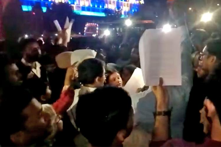 Bengaluru residents reading out Constitution to protest CAA allege manhandling by cops