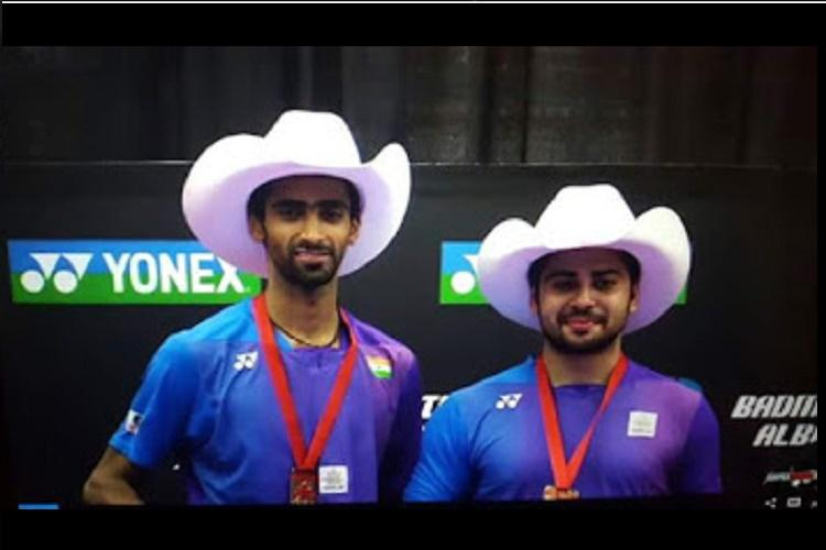 For the love of badminton Sumeeth and Mannu to give it their all in Rio