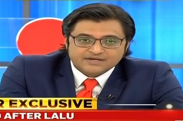 Arnab Goswami's TV channel goes live
