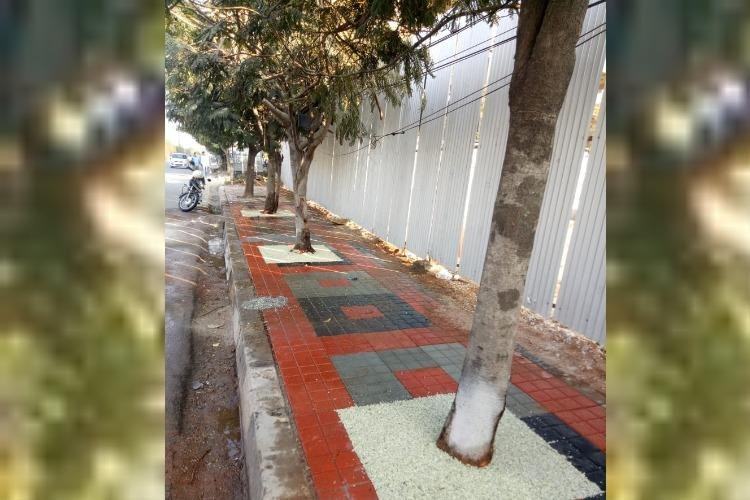 Hyd urban body introduces permeable covers for trees on footpath runs successful trial