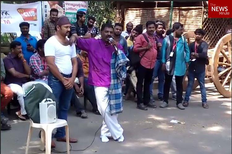 Keralas Dance Thampi hits IFFK with a bizarre stunt and two unusual demands