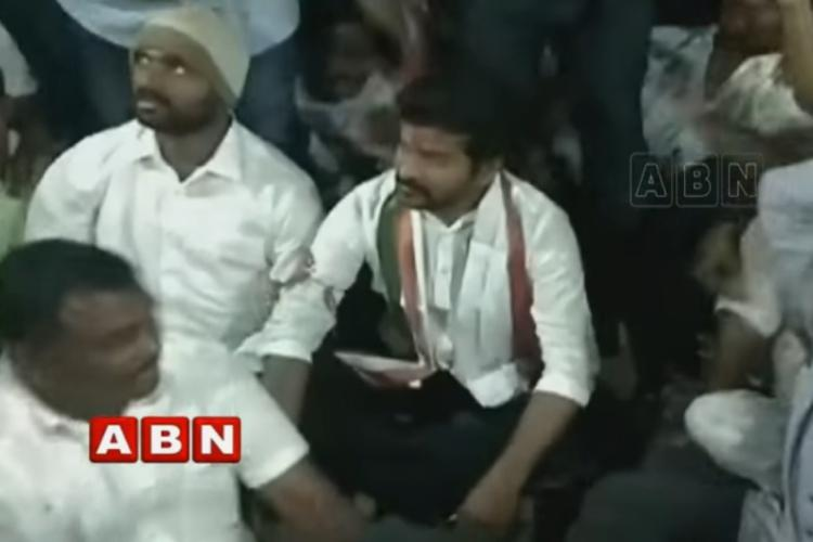 EC flying squad raids supporters of Cong leader Revanth Reddy he alleges bias