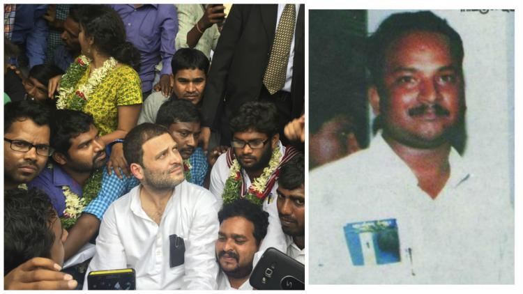 Where was Rahul Gandhi when a Dalit HCU student committed suicide in 2008